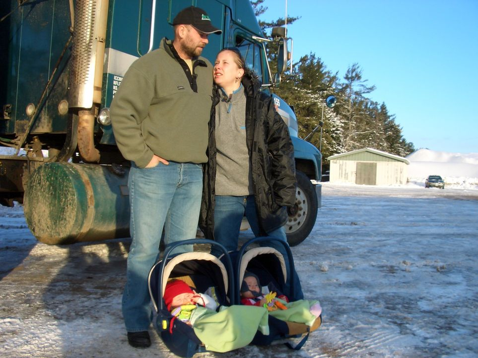 Schon im August 2006 sind Kai (28) und Daniela (23) Hartmann mit ihren damals acht Wochen alten Zwillingen nach New Brunswick an die Ostküste Kanada... - Bildquelle: kabel eins