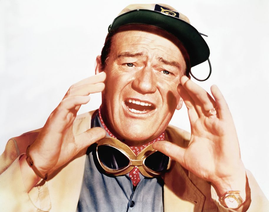 Fürchtet sich nicht vor großen Tieren: Sean Mercer (John Wayne) ... - Bildquelle: 2006 by Paramount Pictures Corporation. All Rights Reserved.