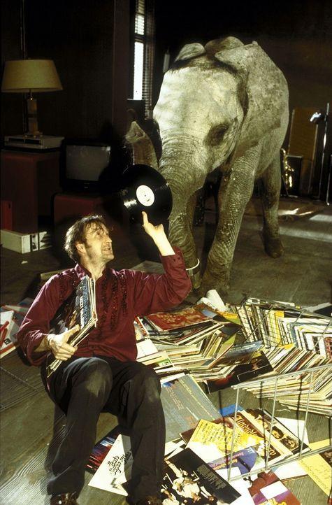 """Lennard (Peter Lohmeyer) erliegt dem Charme und der """"Musikalität"""" seines Schützlings ... - Bildquelle: Leslie Haslam ProSieben"""