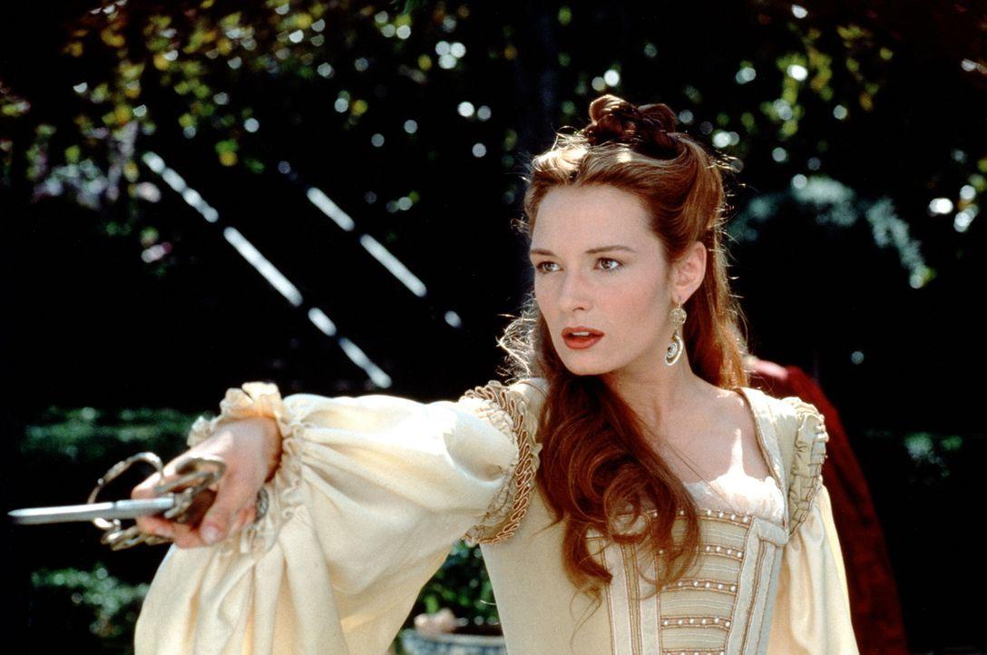 Die Kurtisane von Venedig, Veronica (Catherine McCormack), beherrscht sogar das Degenfechten ... - Bildquelle: Warner Bros.