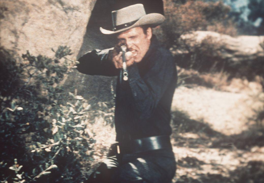 Der üble Gauner Vince Dagen (John Ericson) kennt kein Erbarmen ... - Bildquelle: Paramount Pictures