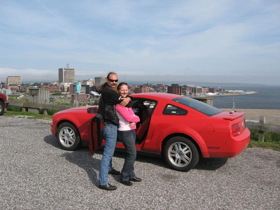 Sonja (42) und Sven (44) Schrick aus Berlin wollen in New Brunswick, Kanada, ein neues Leben beginnen - Bildquelle: kabel eins