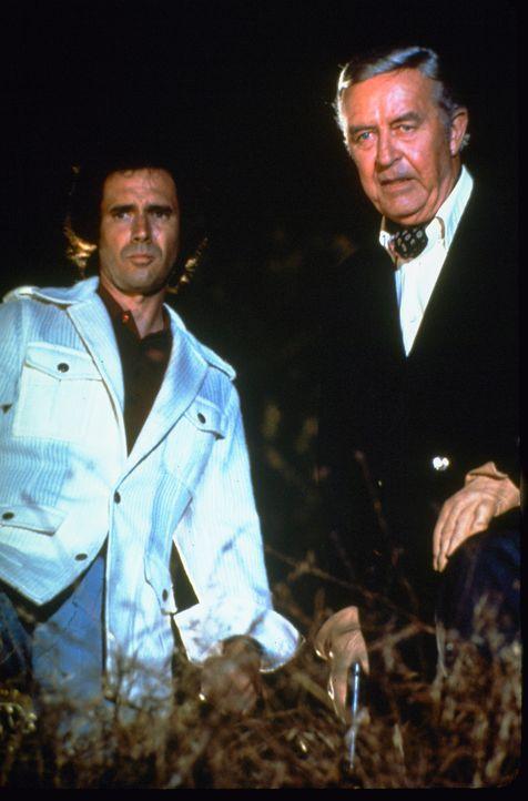 (v.l.n.r.) Tony Goodland (Bradford Dillman ); Jarvis Goodland (Ray Milland) - Bildquelle: 1972 Universal City Studios LLLP. All Rights Reserved.