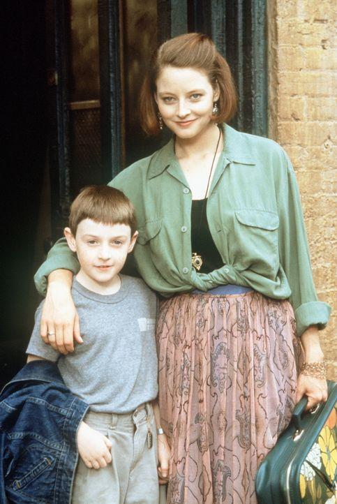Wunderkind Fred (Adam Hann-Byrd, l.) und seine Mutter Dede (Jodie Foster, r.) sind eigentlich ein ganz gutes Team ... - Bildquelle: Orion Pictures Corporation