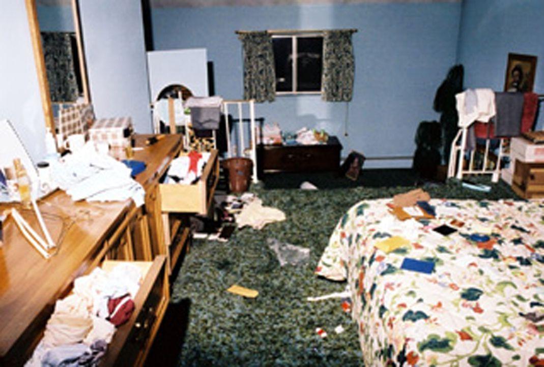 Das Appartement von Susan Eigen, in dem sie und ihr Sohn ermordet wurden ... - Bildquelle: kabel eins