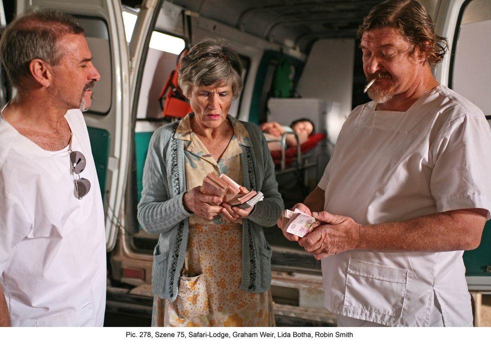 Eigentlich wollten Marisa und Frank einen wunderbaren Honeymoon in Südafrika verbringen. Unglücklicherweise geraten sie jedoch an eine skrupellose L... - Bildquelle: Boris Guderjahn ProSieben