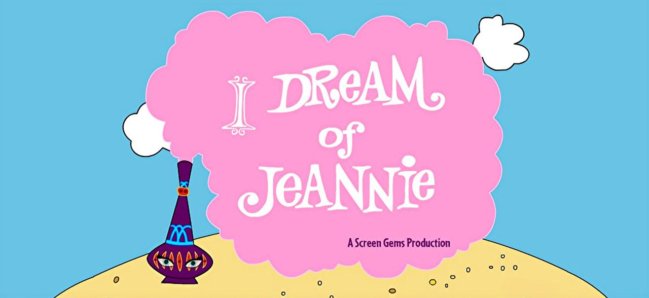 """Bezaubernde Jeannie""- Logo Originaltitel - Bildquelle: Columbia Pictures"