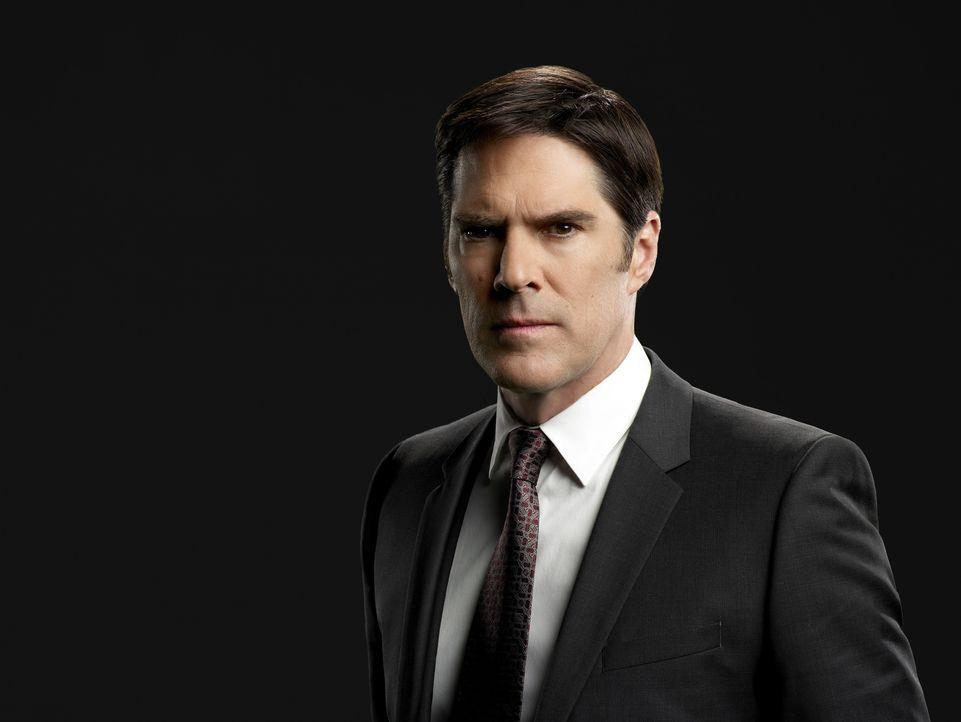 (9. Staffel) - Im Einsatz für die Gerechtigkeit: Special Agent Aaron Hotchner (Thomas Gibson) - Bildquelle: ABC Studios