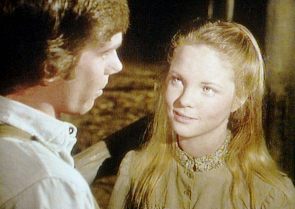 Das Glück scheint unendlich: Mary (Melissa Sue Anderson, r.) und ihr neuer Freund Seth (Robert W. Kenneally, l.) ... - Bildquelle: Worldvision