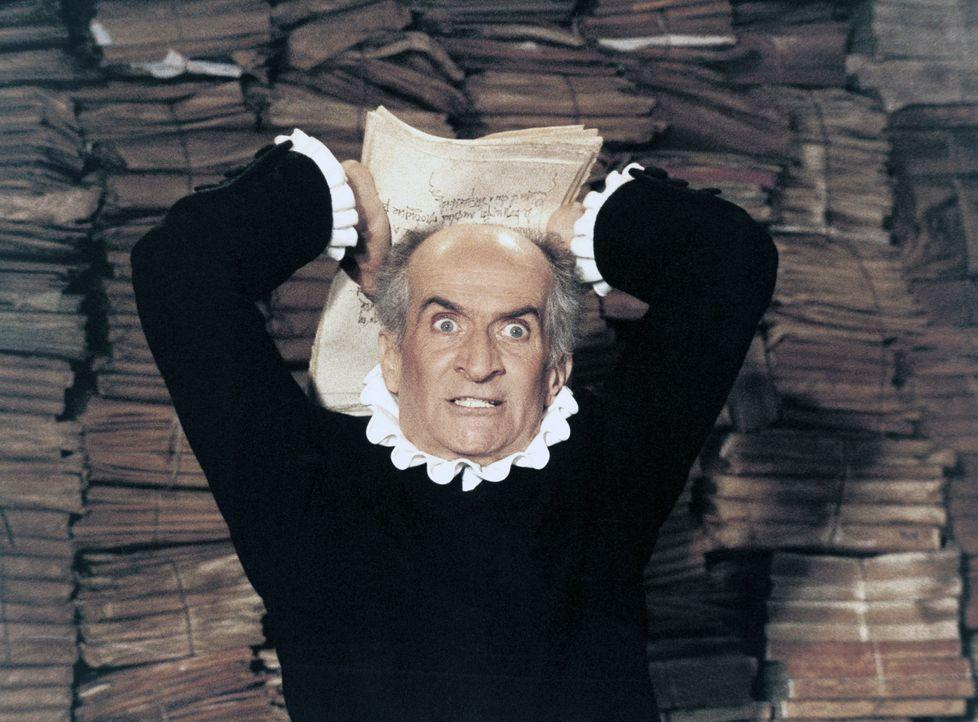 Um seinen Reichtum noch zu vermehren, plant der alte Geizkragen Harpagon (Louis de Funès), seine beiden Kinder reich zu verheiraten, was sich als zi... - Bildquelle: Sylvie Lancrenon Licensed by Studiocanal / Sylvie Lancrenon