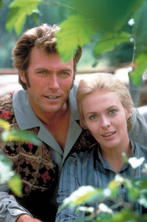 (v.l.n.r.) Pardner (Clint Eastwood); Elizabeth (Jean Seberg) - Bildquelle: TM, ® &   2018 by Paramount Pictures. All Rights Reserved.