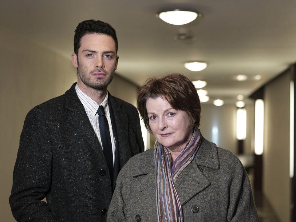Joe Ashworth (David Leon, l.); Vera Stanhope (Brenda Blethyn, r.) - Bildquelle: ITV Studios