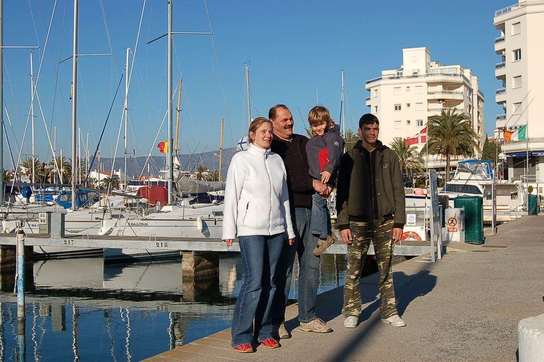 Vor vier Monaten sind die Zieglers aus Sachsenheim bei Stuttgart an die Costa Brava ausgewandert. - Bildquelle: kabel eins
