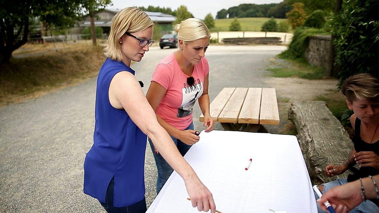 (v.l.n.r.) Claudia; Tanja; Katrin - Bildquelle: SAT.1 GOLD