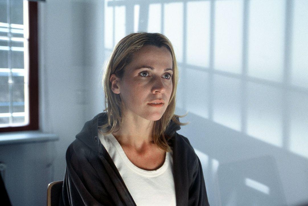 Unschuldig? Eva Heugen (Doris Schretzmayer) gerät unter Mordverdacht ... - Bildquelle: Menke Sat.1