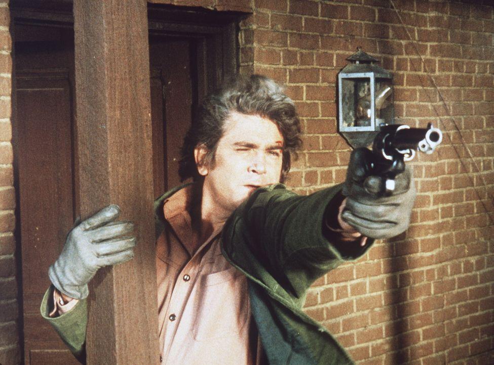 Little Joe Cartwright (Michael Landon) macht Jagd auf die Bankräuber, die das Leben des erst siebenjährigen Jonah auf dem Gewissen haben. - Bildquelle: Paramount Pictures
