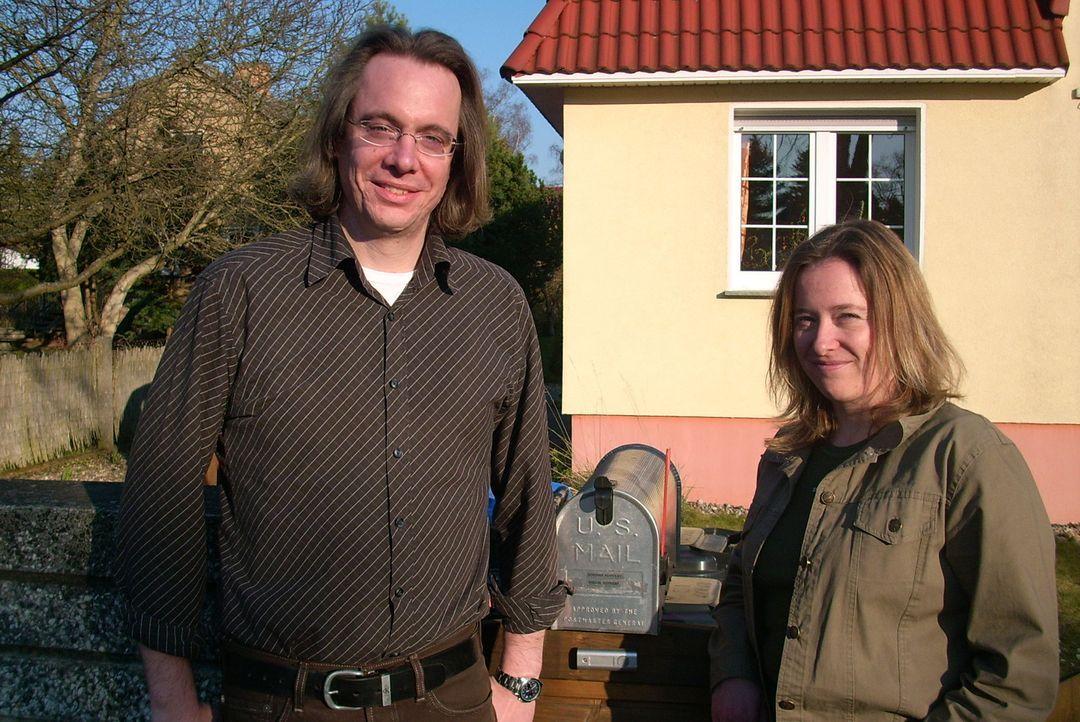 Evelin (35) und Norman (35) Ruppert aus Birkenwerder bei Berlin haben Loslück und können endlich weg aus Deutschland. Mit der gewonnenen Greencard... - Bildquelle: kabel eins