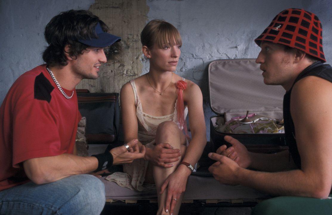 Weil sie einem Kredithai für ihre Musikanlage einen Haufen Kohle schulden, stehen Kemal (Josef Heynert, r.) und Yogi (Tom Beck, l.) vor der undankba... - Bildquelle: ProSieben