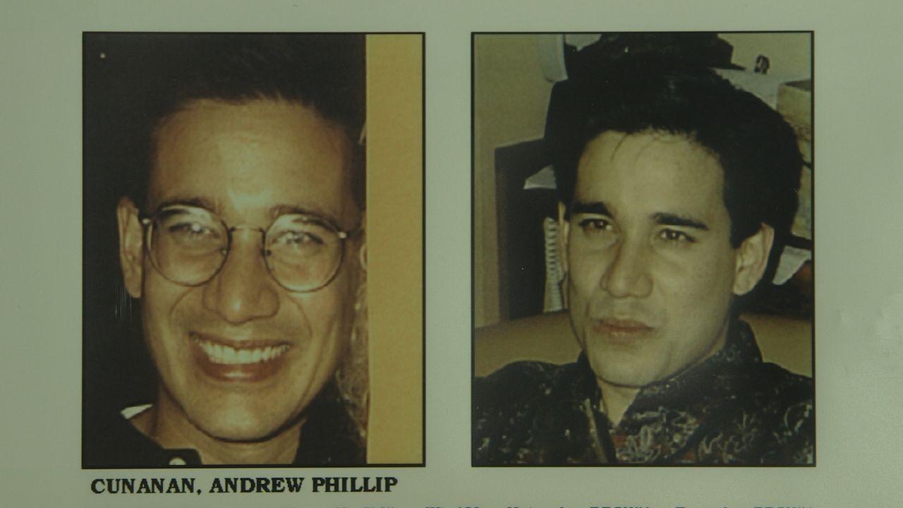 Andrew Phillip Cunanan ist verantwortlich für eine Mordserie, die fünf Menschen das Leben kostete, darunter auch das des Designers Gianni Versace ..... - Bildquelle: Twofour Broadcast Limited
