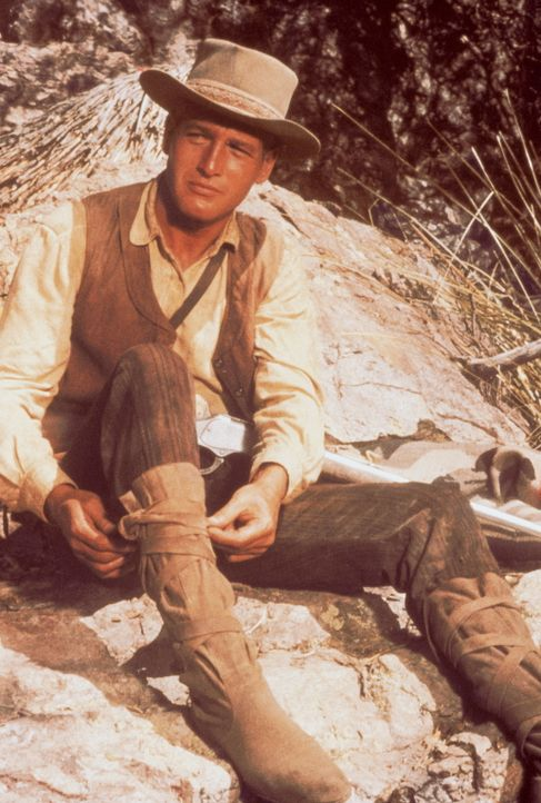 Seit John Russel (Paul Newman) als Kind von den Apachen geraubt wurde, lebt er bei ihnen. Er hat sich ihre Lebensart angeeignet und am eigenen Leib... - Bildquelle: 20th Century Fox