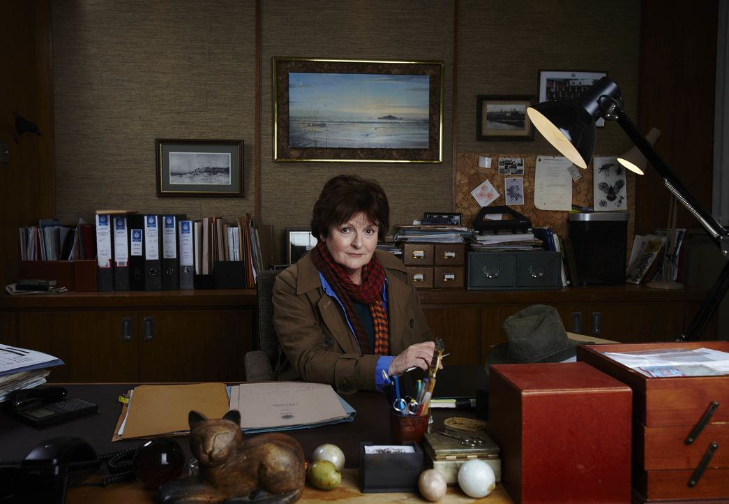 DCI Vera Stanhope (Brenda Blethyn) - Bildquelle: Helen Turton