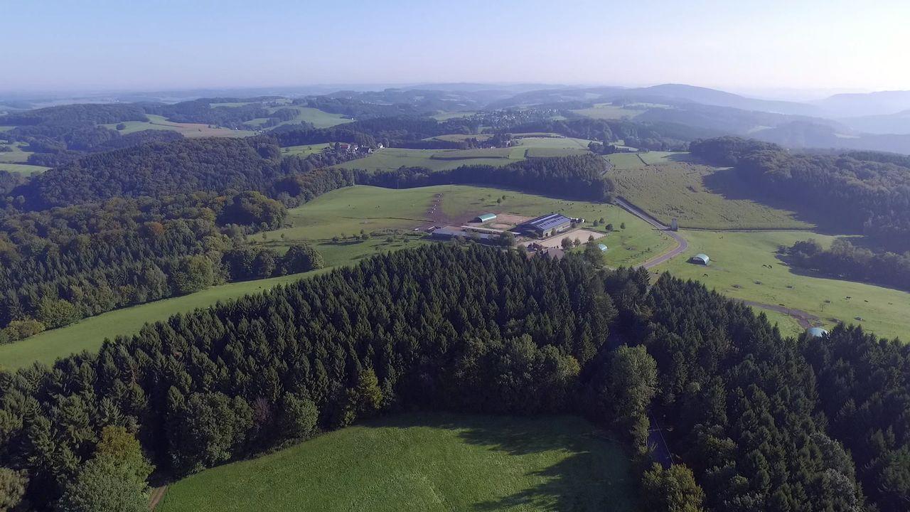 Seit 25 Jahren praktiziert Dr. Dreesen auf Gut Herrenhöhe, einer idyllischen Hofanlage im Bergischen Land. Ein Teil des Hofes wurde zu einer moderne... - Bildquelle: BluePrint Media GmbH 2017