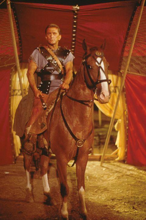 Nach vielen blutigen Kämpfen entfesselt der Gladiator Spartacus (Kirk Douglas) eine Revolution ... - Bildquelle: 1960 Universal Pictures Co., Inc.