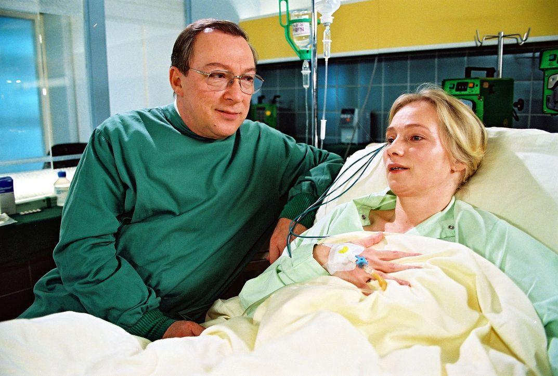 Im Krankenhaus wird eine junge Frau eingeliefert. Diagnose: Schlaganfall. Ihre Existenz bleibt vorerst ein Rätsel. Nach einiger Zeit gelingt es Stef... - Bildquelle: Noreen Flynn Sat.1