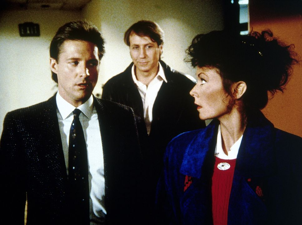 Amanda (Kate Jackson, r.) und Lee (Bruce Boxleitner, l.) sind in eine Falle gelockt worden ...