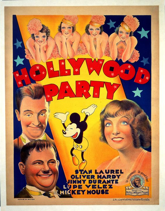 Dick und Doof: Hollywod Party - Artwork - Bildquelle: 1934 Turner Entertainment Co. All rights reserved.