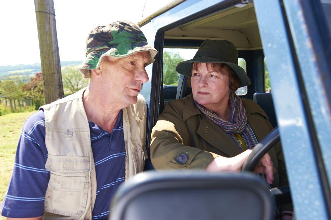 Stan Conville (Philip Martin Brown, l.); Vera Stanhope (Brenda Blethyn, r.) - Bildquelle: Rachel Joseph ITV Studios / Rachel Joseph