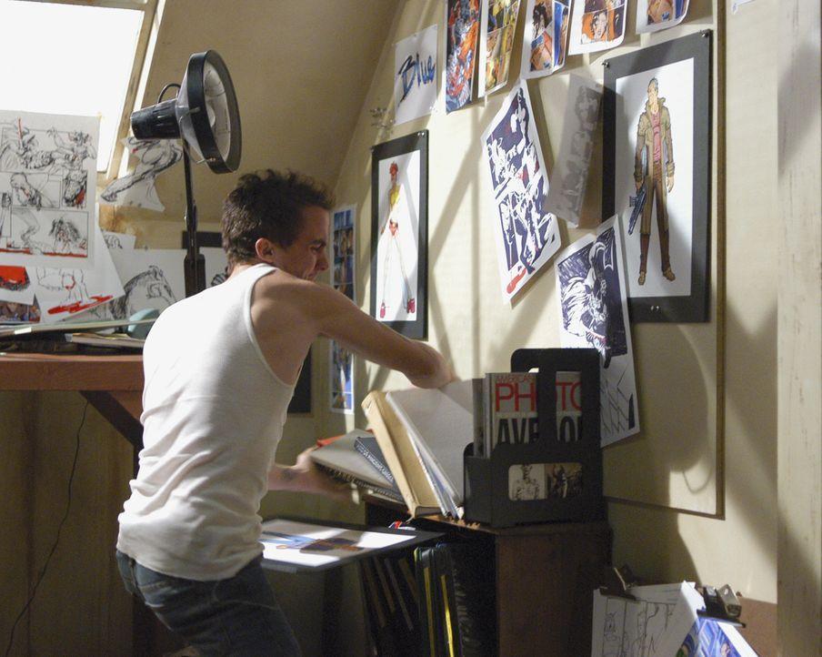 Hat der Comicbuchautor Jonny McHale (Frankie Muniz) etwas mit den Morden in Los Angeles zu tun? - Bildquelle: Gale Adler 2007 ABC Studios. All rights reserved. NO ARCHIVE. NO RESALE. / Gale Adler