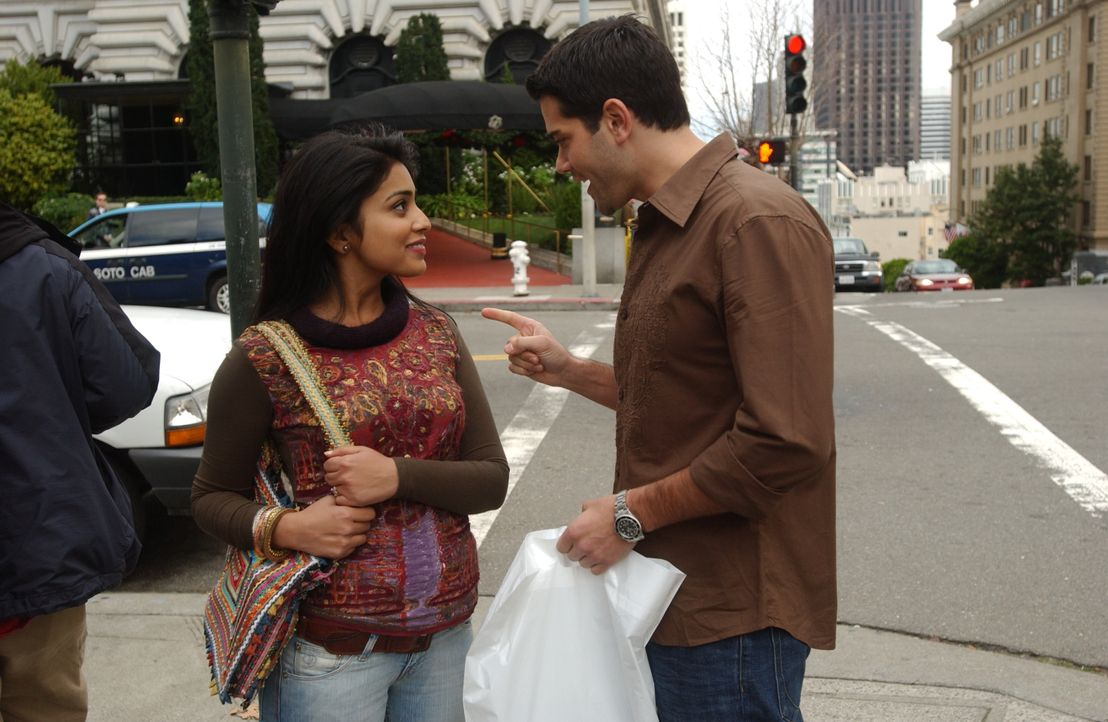 Hat ihre Liebe eine Chance? Granger Woodruff (Jesse Metcalfe, r.) und Priya R. Sethi (Shriya Saran, l.) - Bildquelle: 2008 OEL Productions, INC. All Rights Reserved.