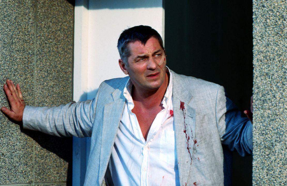 Als sein Bruder Carlos ermordet wird, will Stan Becker (Heinz Hoenig) die Aufklärung nicht dem Morddezernat überlassen. Gegen die ausdrückliche Anwe... - Bildquelle: Axel Fremmer Sat.1