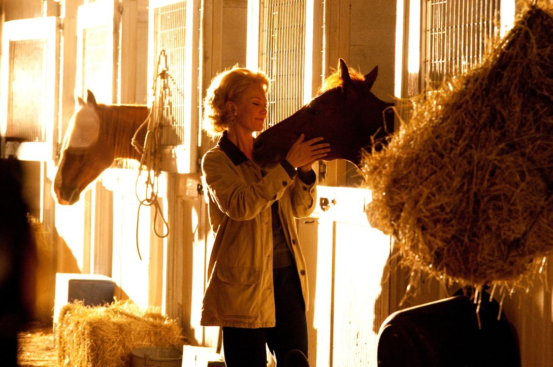 Der Rennstall Meadow Stables wird kurzerhand von Penny Chenery (Diane Lane) übernommen, die auf ihren jungen Hengst Secretariat setzt. Sie hat Große... - Bildquelle: John Bramley Disney Enterprises, Inc.  All rights reserved / John Bramley