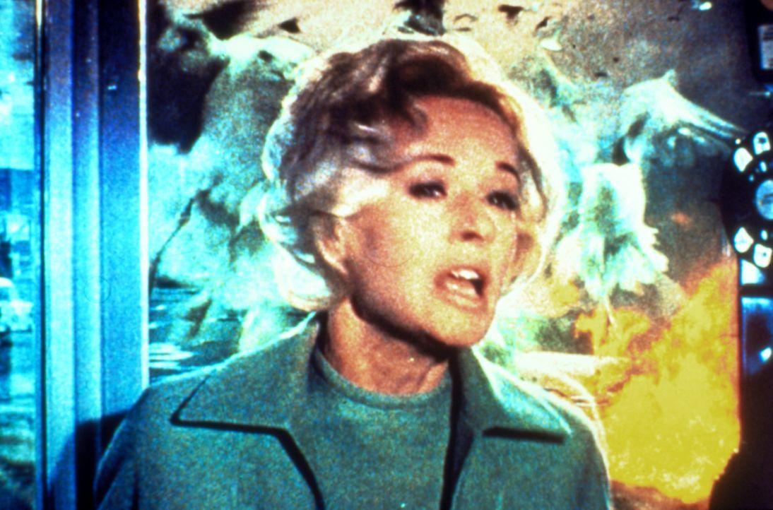 """Mit der Ankunft Melanies (Tippi Hedren) in dem beschaulichen Küstenort """"Bodega Bay"""" beginnt eine Reihe mysteriöser Ereignisse - sie wird von Vögeln... - Bildquelle: 2000 Universal Studios"""