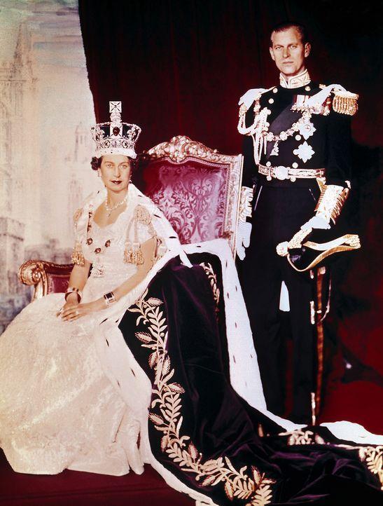 Queen-ElizabethII-Prinz-Philip-1953-06-02-AFP - Bildquelle: AFP
