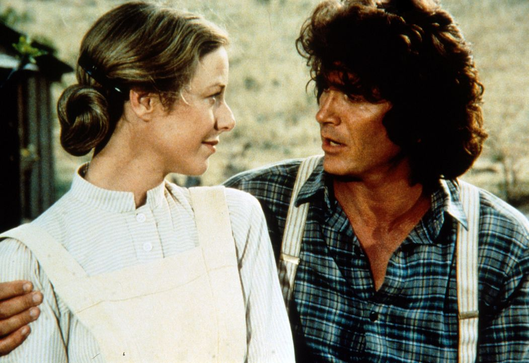 Caroline (Karen Grassle, l.) und Charles (Michael Landon, r.) müssen für ein paar Monate Abschied nehmen. - Bildquelle: Worldvision