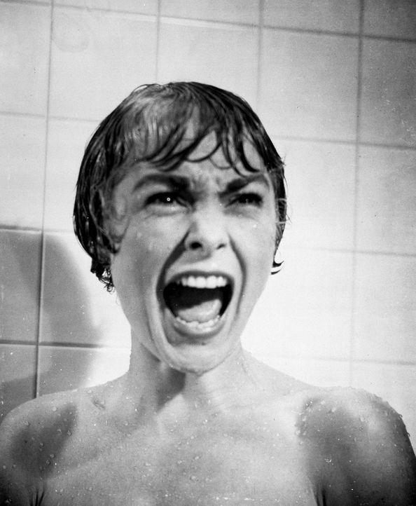 In einem abgelegenen Motel nimmt Marion (Janet Leigh) eine Dusche - die letzte ihres Lebens ... - Bildquelle: 1960 Shamley Productions, Inc. Renewed 1988 by Universal City Studios, Inc. All Rights Reserved.