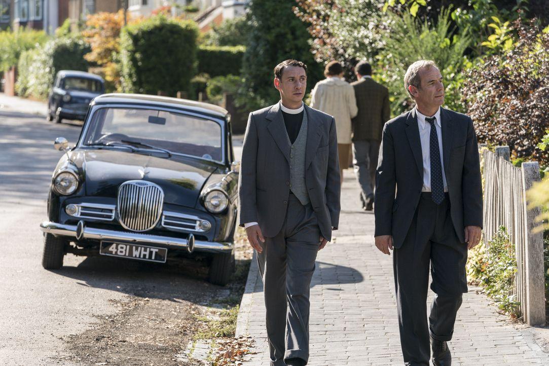Bobby Guthrie (Simon Bubb, l.); Geordie Keating (Robson Green, r.) - Bildquelle: Colin Hutton Kudos/ITV/Masterpiece / Colin Hutton