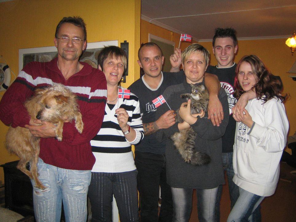 Familie Nagel will ein neues Leben in Norwegen beginnen ... - Bildquelle: kabel eins