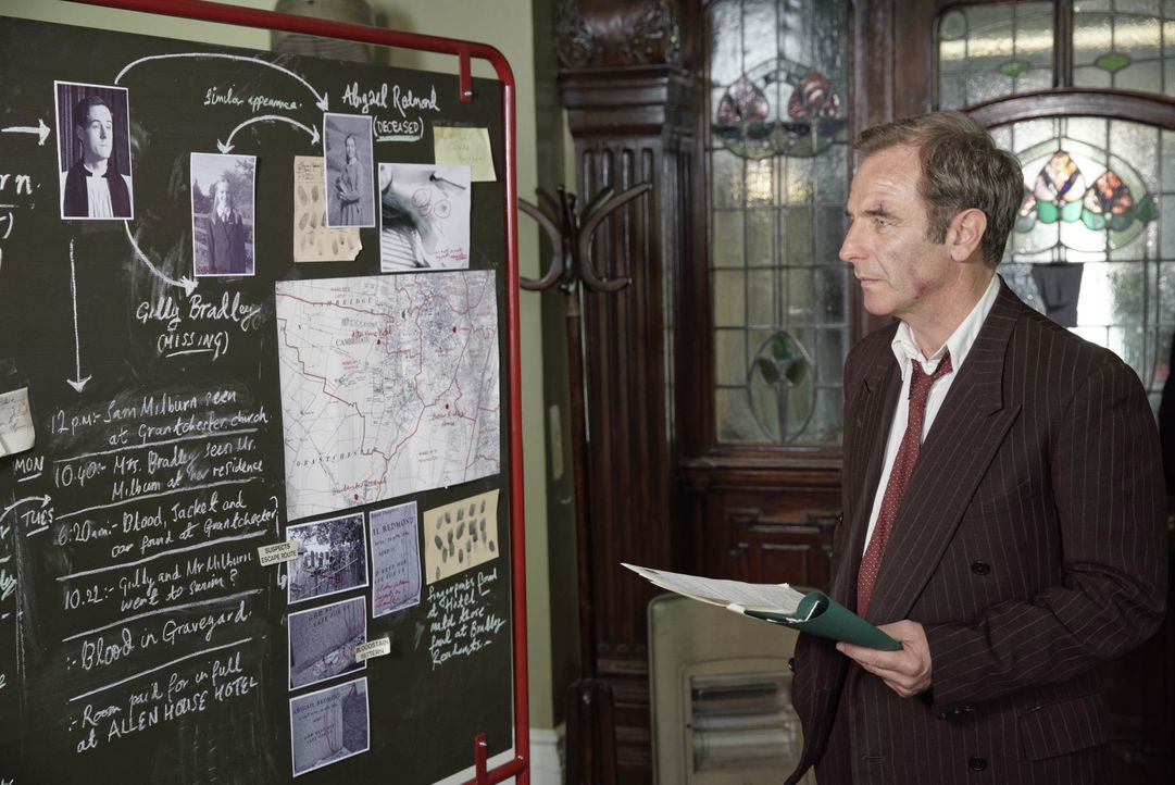 Geordie Keating (Robson Green) - Bildquelle: LOVELY DAY PRODUCTION / ITV