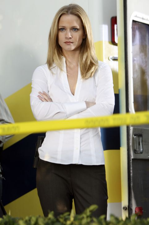 Hofft, den Täter bald fassen zu können: 'JJ'  (AJ Cook) ... - Bildquelle: Michael Desmond 2007 ABC Television Studio. All rights reserved. NO ARCHIVE. NO RESALE. / Michael Desmond