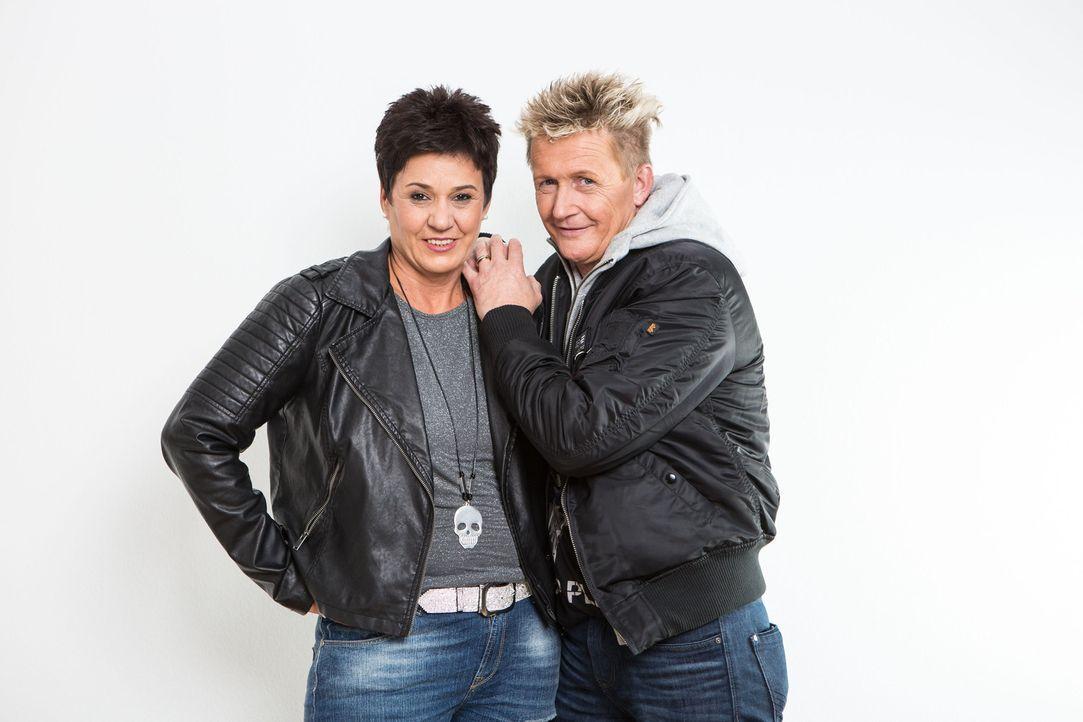 Das Ermittler-Ehepaar Miriam (l.) und Stefan Wolloscheck (r.) hilft immer dann, wenn Menschen nicht mehr weiter wissen ... - Bildquelle: SAT.1