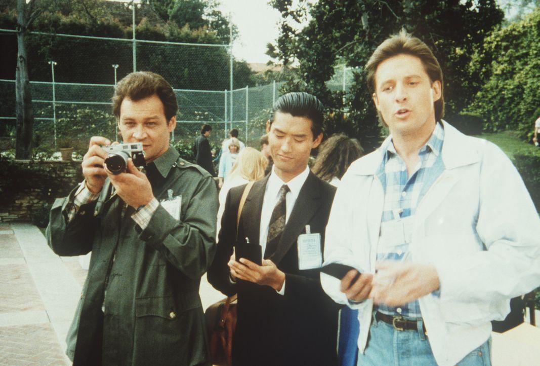 Drei Topagenten arbeiten zusammen: Petrovich (Ed O'Ross, l.), Chang (James Pax, M.) und Lee (Bruce Boxleitner, r.).