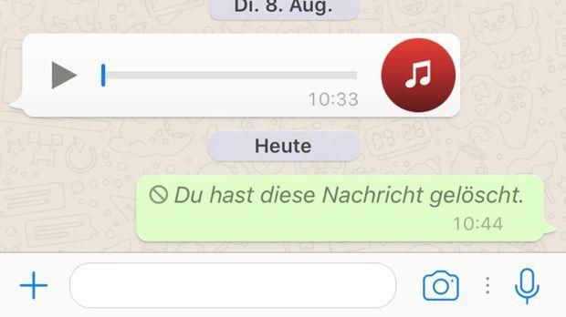 So rufst du WhatsApp Nachrichten zurück
