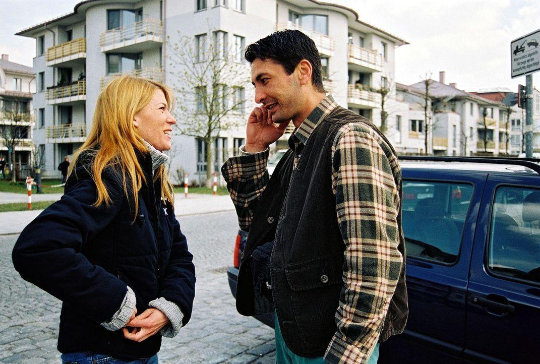 Das Ermittler-Duo Katja Hansen (l.) und Tekin Kurtulus (r.) - Bildquelle: Riedel Sat.1