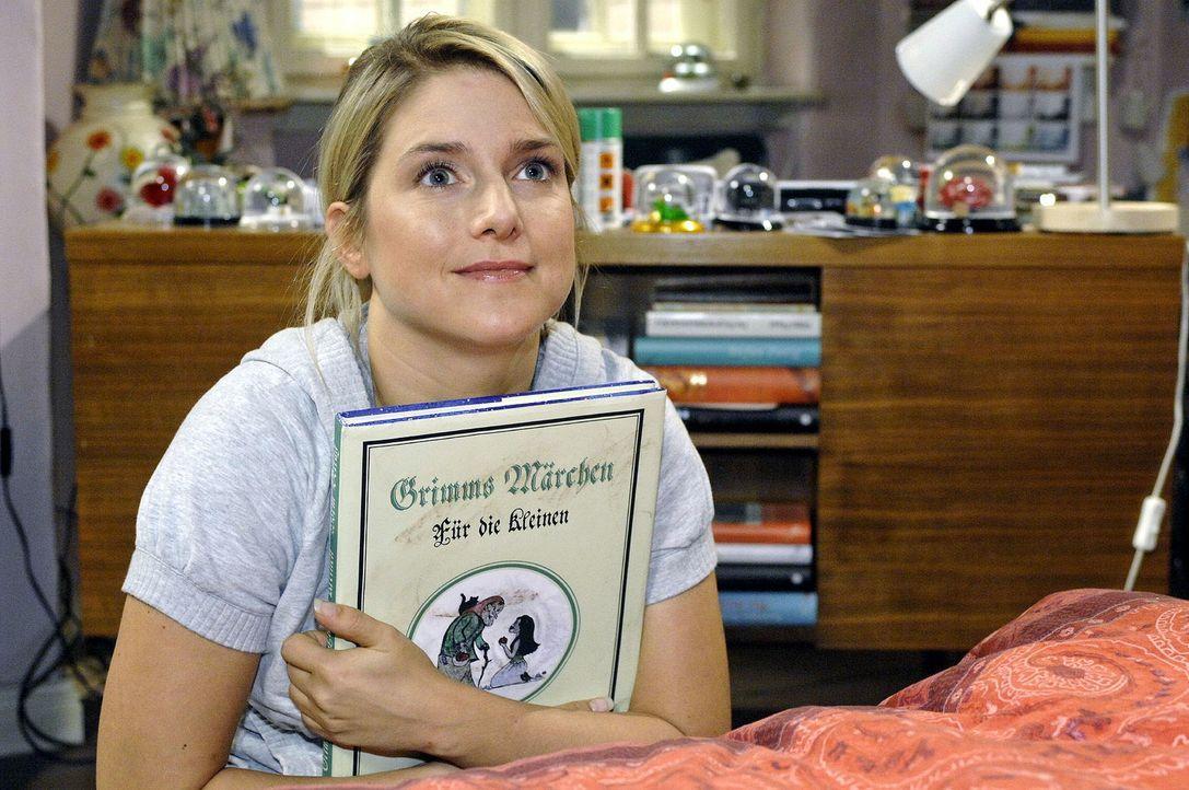 Anna (Jeanette Biedermann) bereitet sich auf ihr Blind Date vor ... - Bildquelle: Oliver Ziebe Sat.1