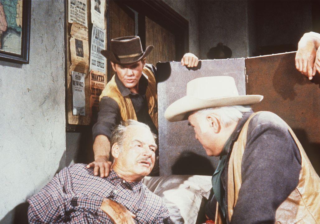 Harry Lassiter sitzt im Knast und wartet auf die Vollstreckung des Todesurteils. Da lassen seine Mutter und sein Bruder Sheriff Coffee (Ray Teal, M.... - Bildquelle: Paramount Pictures