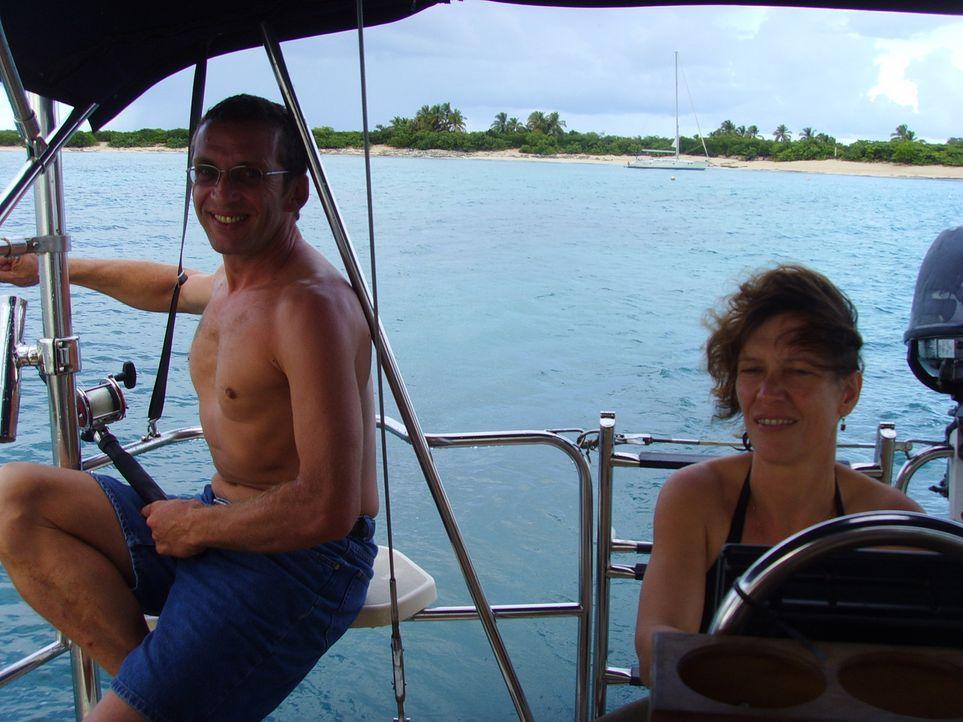 Deutsche Hausmannskost ermöglicht Familie Bolik ein Leben im Paradies. Martina (45) und Michael (48) sind vor dreizehn Jahren mit ihren Kindern Migu... - Bildquelle: kabel eins